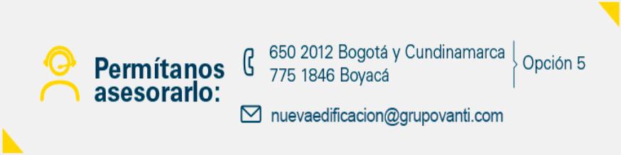 Grupo Vanti Teléfonos de contacto