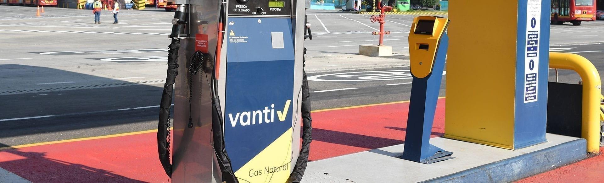 Grupo Vanti Tanquea en nuestra red de estaciones de servicio
