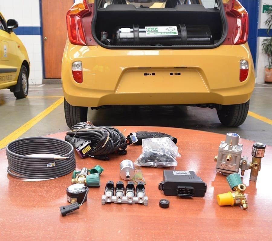 Grupo Vanti Instala Gas Natural Vehicular